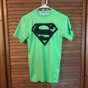 UA x Superman Compression Top